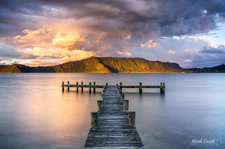 Lake Rotoiti Sunset Jetty