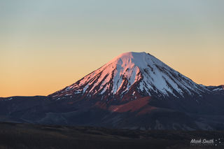 Mount Ngauruhoe Sunset