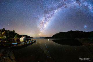 Tarawera Landing April Astro Pano