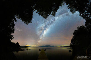 Lake Tarawera Ferny Astro View
