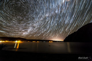 Lake Rotoiti Star Trails