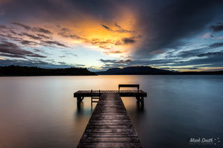 Lake Tarawera Seat Jetty