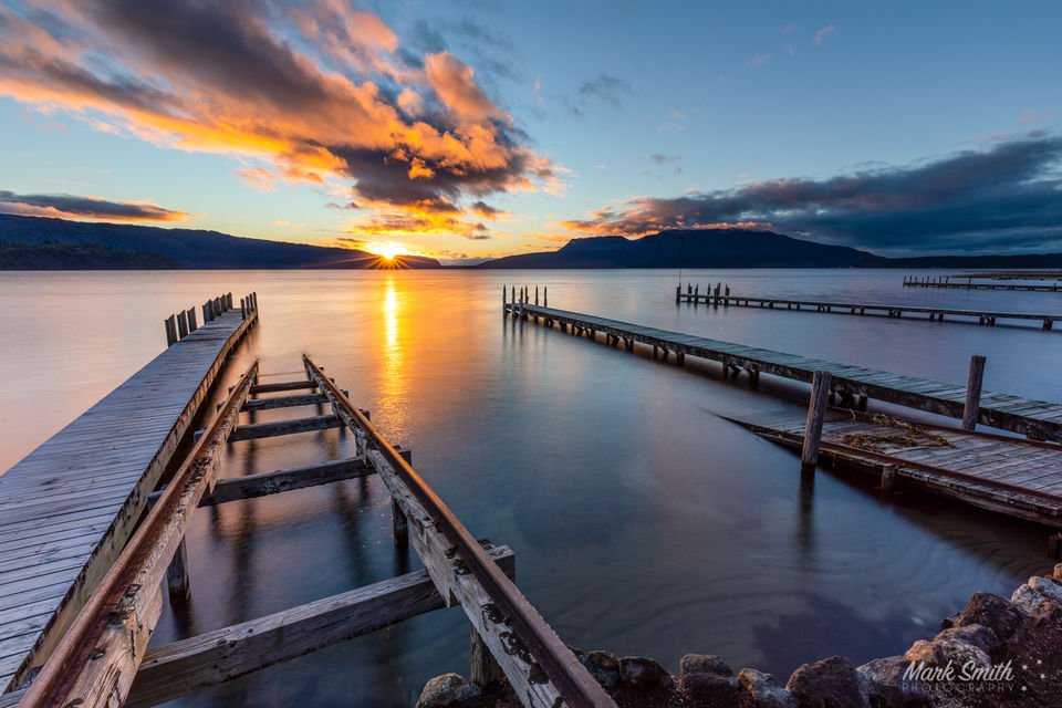 Lake Tarawera Jettys Sunrise
